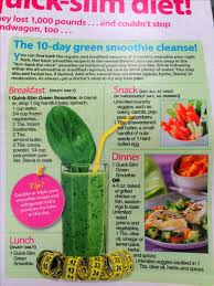 jj smith green smoothie recipes day 1