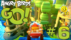 Angry Birds Go! Let's Play #6 - Tri Toaster Kart (Rocky Road ...