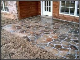 gorgeous concrete patio floor paint