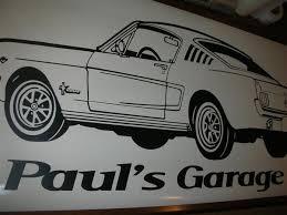 Hot Rod 3 Car Wall Decal Auto Wall Mural Vinyl Stickers Boys Roo