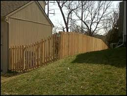 Spaced Picket Semi Private Royal Fence And Design Fence Styles