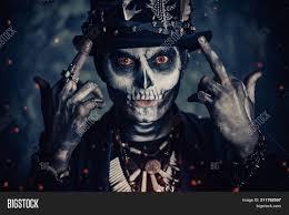 man skull makeup image photo free