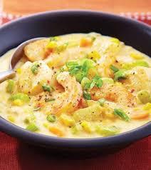 Seafood Corn Chowder Recipe