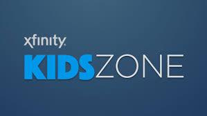 kids zone on cast xfinity tv