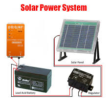 Dc 12v Solar Power Electric Fence Energizer Electric Fencing Charger Controller For Small Farm Of Sheep Horse Cattle Bear Dog Control Wireless Control Robotcontrol Of Insect Pests Aliexpress