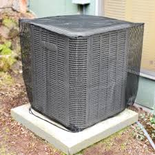 Air Conditioner Covers for Outside Units Mesh Central Ac Leaf Guard Cover  for Outdoor Compressor All Season Accessories