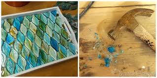 decorative mosaic tray reality daydream