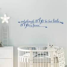 She Is Fierce Wall Decal Quote