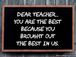 thank you notes for teacher messages and quotes com