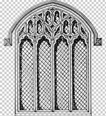 church window stained glass drawing png