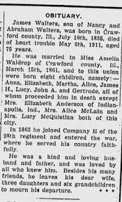 James Wesley Walters (1835-1911) - Find A Grave Memorial