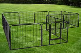 Amazon Com Exercise Barrier Fence Metal 24 Tall For Pet Dog Puppy Cat 16 Panels Fabuderful Pet Supplies