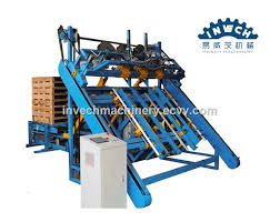 wood pallet nailer stacker machine