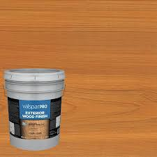 Valspar Pro Pre Tinted Cedar Transparent Exterior Stain 5 Gallon In The Exterior Stains Department At Lowes Com
