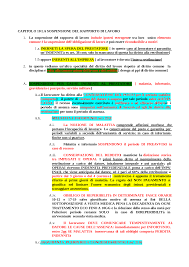 Schema cassa integrazione - Docsity
