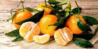 wallpaper with food mandarin