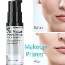 primer makeup base face oil control