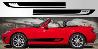 Miata Mx 5 Nc Door Stripe Decal Graphic Stripe Garage