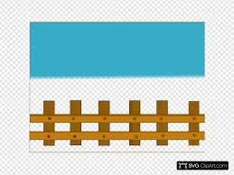 Fence Svg Vector Fence Clip Art Svg Clipart