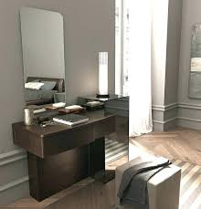 modern white small dressing table