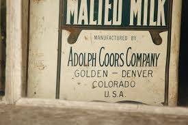 Malted Milk manufactured by Adolph Coors Company text photo – Free Text  Image on Unsplash