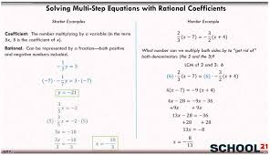 solve equations grade 8 examples