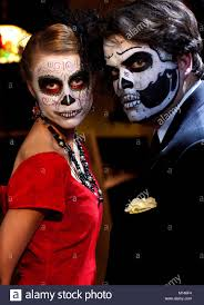 traditional day of the dead makeup