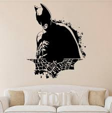 Batman Sticker Wall Dark Knight Poster Movie Comics Vinyl Decal Art Superhero Nursery Children Room Mural Home Interior Decor Cheap Vinyl Wall Decals Cheap Wall Art Decals From Totwo2 21 48 Dhgate Com
