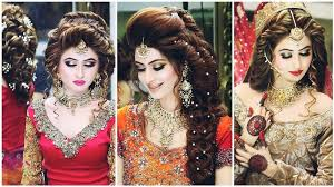 bridal makeup and hair styles