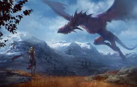 flight mounns dragon art game