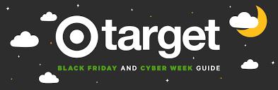 Target Black Friday 2020 Savings