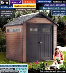 reviews best outdoor storage sheds