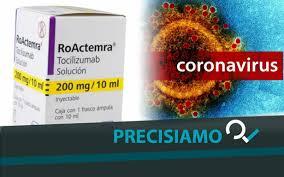 Coronavirus. Il farmaco Tocilizumab funziona contro il virus? No ...