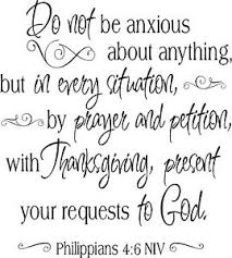 Philippians 4 6 Scripture Vinyl Lettering Words Wall Decal Decor Quote Ebay