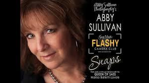 Abby Sullivan - Sassy Mouth's Flashy Camera Club SNAP Interview - YouTube