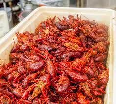 Boiled Crawfish in New Orleans ...