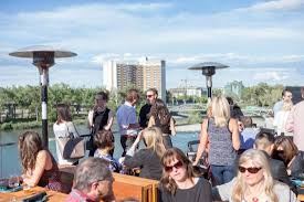 rooftop bar another great option