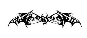 Tribal Bat Decal Custom Vinyl Car Truck Window Laptop Sticker Custom Vinyl Custom Vinyl Decal Instagram Decal