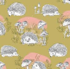 crib bedding hedgehog crib sheet
