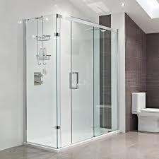 bathroom shower glass partition श वर