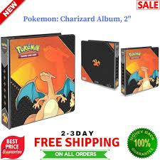Pokemon Charizard 3 Ring Binder Album 2 Trading Card Game Collector Storage  sumo.ci