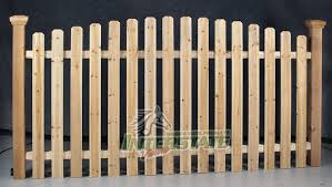 Wood Picket Fence Installation In Collegeville Pa Paramount Fencing Inc Paramount Fencing Com