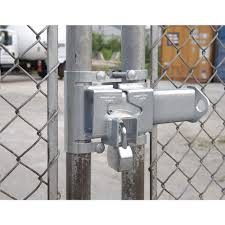 American Lock Hasp Gate Security Adj 3 6in Wide Chain Link Fence Hardware Amla810 A810 Grainger Canada