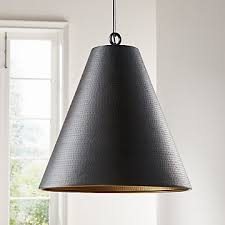 pendant lighting crate and barrel