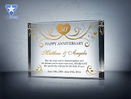 wedding anniversary gifts 50th wedding
