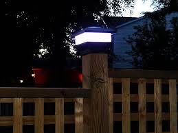 Free Light Solar Pcl 4x4 5 Light Led Fence Post Cap Wayfair Ca