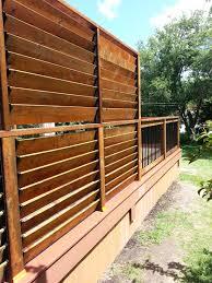 Flex Fence Creation By Thommoknockers Custom Decks Louver Extra Privacy Deck Privacy Screen Outdoor Backyard Privacy Screen Backyard Privacy