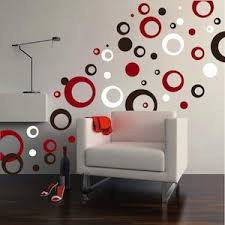 Thick Rings Dots Vinyl Wall Art Trendy Wall Designs