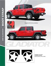 Jeep Gladiator Side Decals Jeep Gladiator Body Stripes Bootstrap