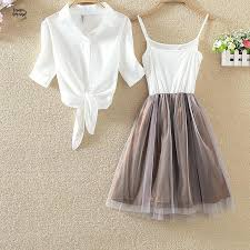 s 4xl white shirt and sling tutu dress
